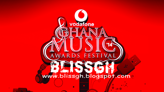official copy of the final nomination list of the Vodafone Ghana Music Awards 2014