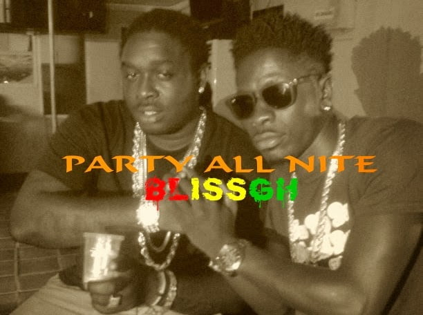 shatta wale ft jah vinci - party all night