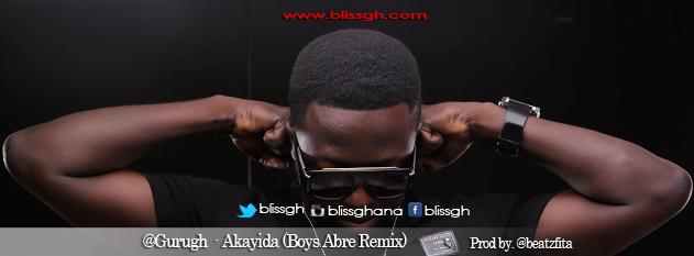Guru -  Akayida - (Boys Abre Remix) ( Prod By. @beatzfita)