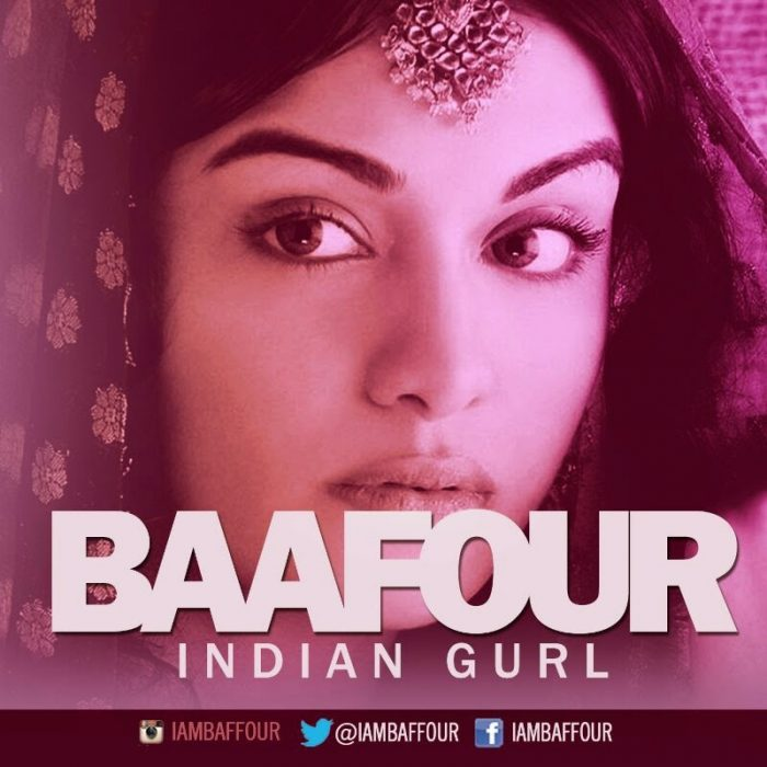 Baafour - indian Girl + Over
