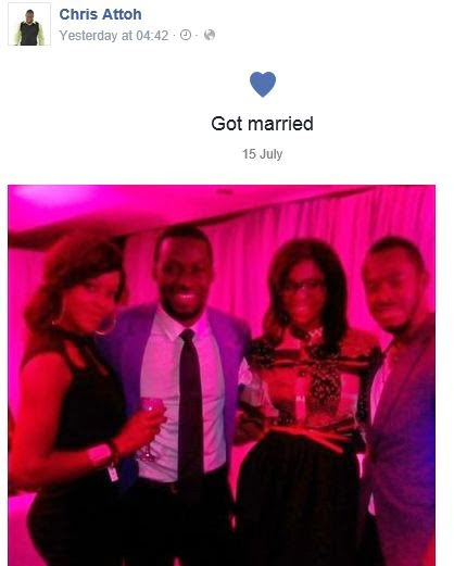Chris Attoh & Damilola Adegbite Secretly Married??