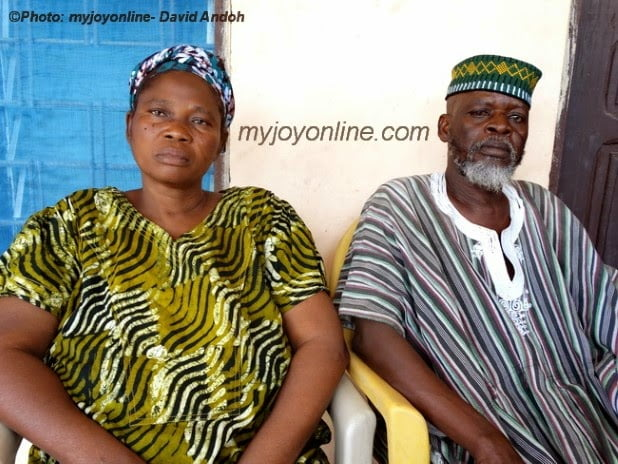 Produce our Daughter - Janet Bandu's Parents