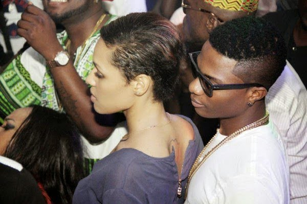 WizkidE28099s girlfriend Tania Omotayo birthday party - PICTURES: Wizkid & Girlfriend Having Fun At His Birthday Party