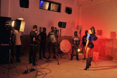 Behind The Scene Pictures Eazzy Ft. StoneBwoy EMERGENCY Video shoot 5 - Photos: Eazzy ''EMERGENCY'' Video shoot Behind The Scene