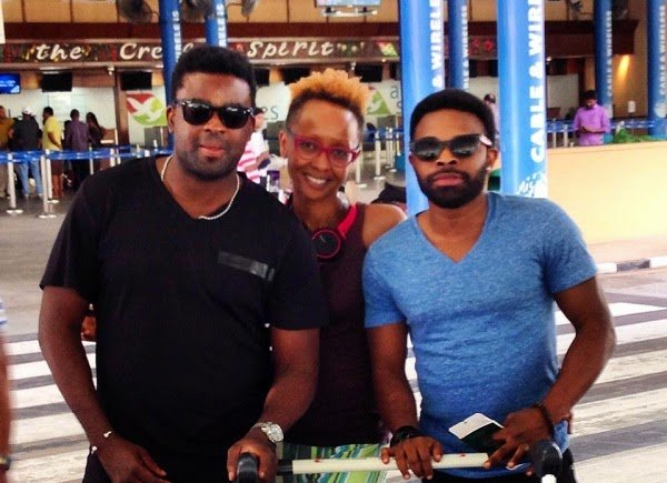 KunleAfolayanAndBrother - Top Nollywood filmmaker and brother Isolated In Seychelles Over Ebola fear