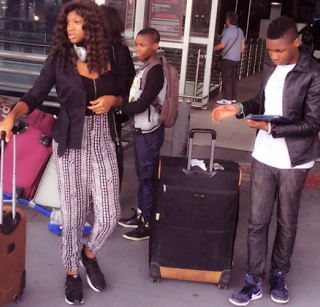 Omotola Jalade Ekeinde 28229 - PHOTOS: Actress Omotola Shares Photos Of Her Beautiful Family
