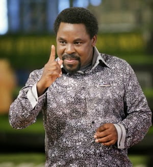 I Have The Cure For Ebola Says - T.B. Joshua