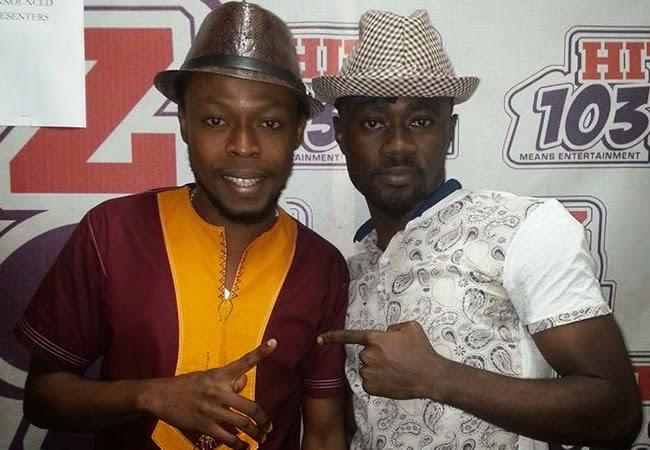 VIDEO: Kalybos gives freestyle on Hitz FM