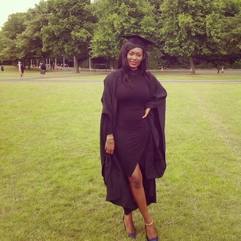 PHOTOS: Sarkodie's Girlfriend Graduates From University In UK