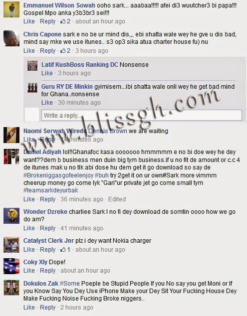 FanspissedoverSarkodiesNewSingleM3gyeWuGirl - Fans pissed over Sarkodie's New Single ''M3gye Wu Girl''