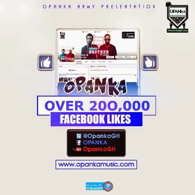 Opanka - Over 200,000 Facebook Likes