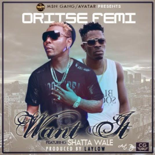 Oritse Femi Ft. Shatta Wale - Want It