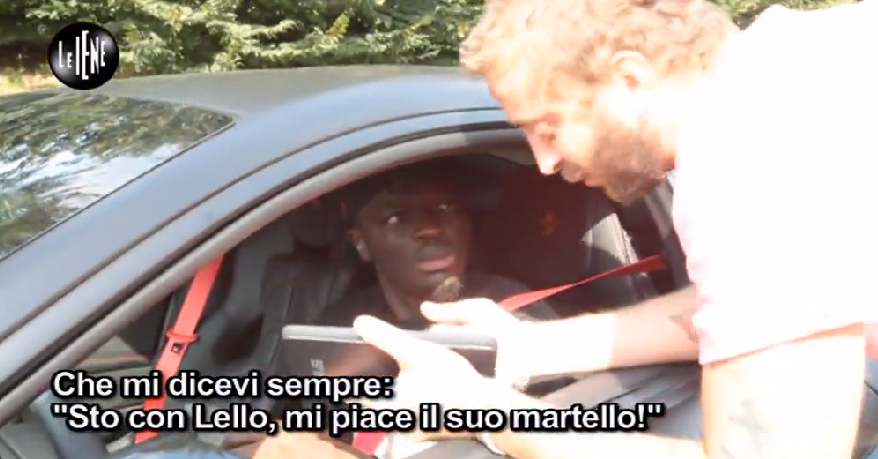 Muntary in another fight, a prankster in Italy bear the brunt of Muntari's anger