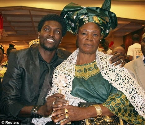 "Adebayor sacks mother over ""juju"" claims"