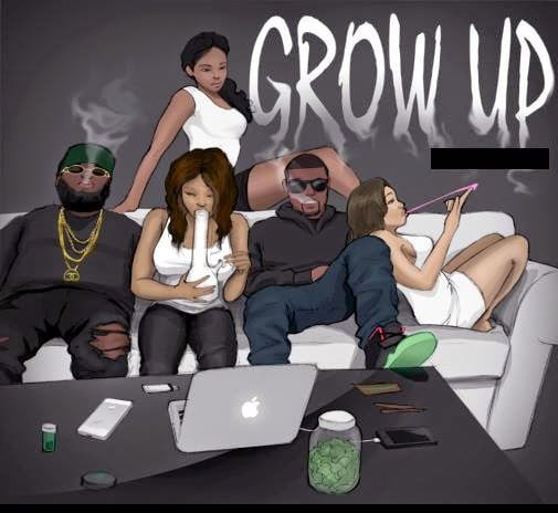 SHattaWale GROWUPwww.blissgh.com  - Music: SHatta Wale - GROW UP