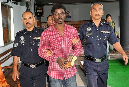Nigerian Man Sentenced To Death For Drug Trafficking In Malaysia