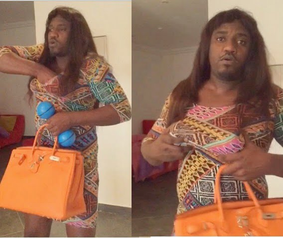 Dumelo1 - Yvonne Nelson And John Dumelo switch Clothes #MeloVon moments