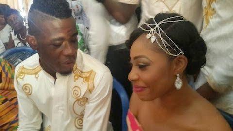Afriyie Acquah and wife-Amanda