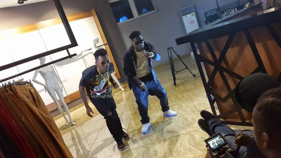 Exclusive Photos: Shatta wale ''Romantic'' ft. Patoranking Video Shoot