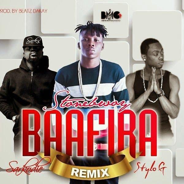 Stonebwoy - Baafira Remix Ft. Stylo Gee, Sarkodie (Prod by Beatz Dakay)