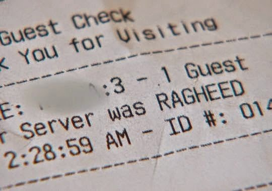 White waiter fired after writing the N-Word on restaurant receipt for 6 black customers