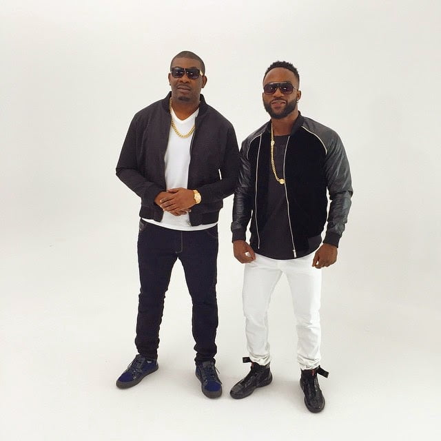 BTS Photos: Iyanya ft. Don Jazzy - Gift