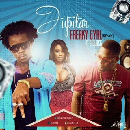 Music: Jupitar  ft. D-Black - Freaky Gal (Remix)