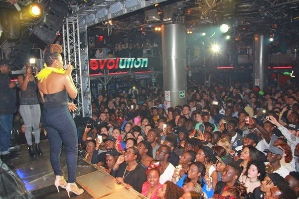 8 - PHOTOS: Yemi Alade sets Rome ablaze