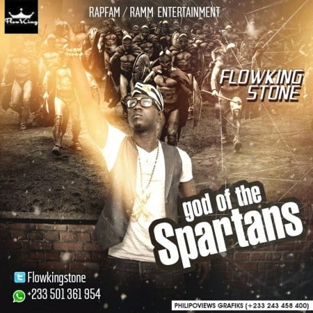 FlowKing StoneGodOfTheSpartansProdByTubhaniBeatzwww.blissgh.com  - Music: FlowKing - Stone God Of The Spartans (Prod By Tubhani Beatz)