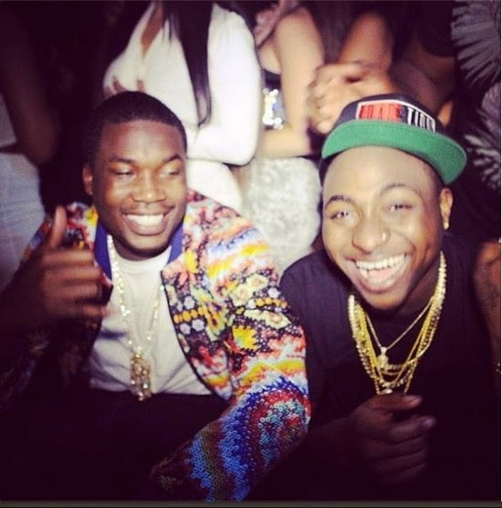 Meek Mill Tweets Collaboration With Davido