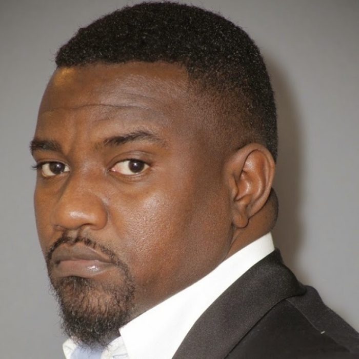 JohnDumelodaresSouthAfricanfan - John Dumelo dares South African fan - ''I will be travelling to South Africa very soon''