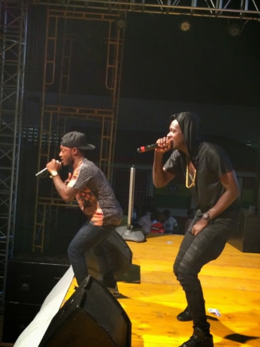 Keche - Burna Boy's Concert ''Di Don Gorgon Concert'' flops, refuses to perform for 40 fans