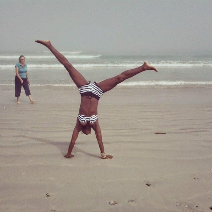 Wiyaala Shows Her Bikini Body 1 opt - Photos: Wiyaala feeling all Sexy