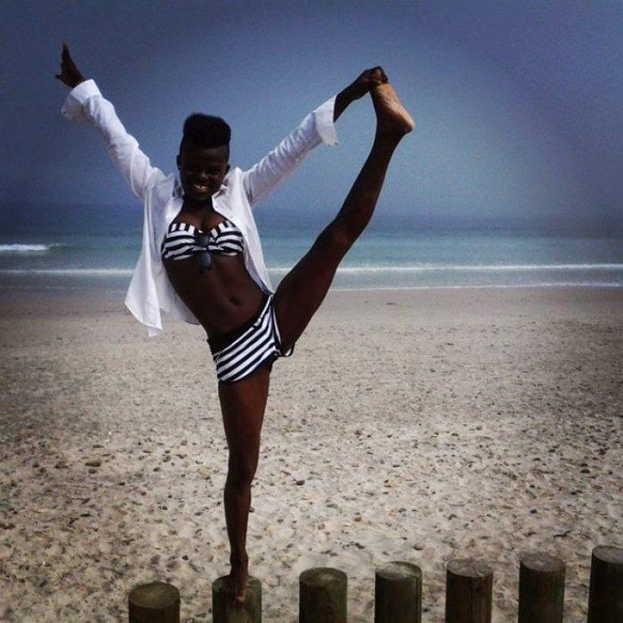 Wiyaala Shows Her Bikini Body 2 opt - Photos: Wiyaala feeling all Sexy