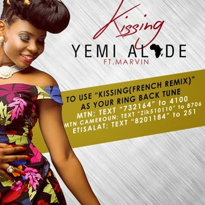 Yemi Alade - Kissing French Version ft. Marvin
