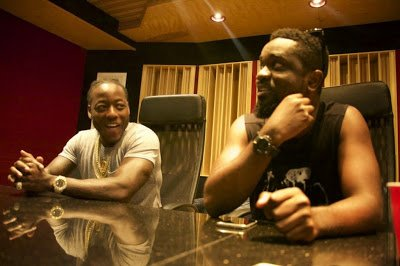 Sarkodie records with American Rapper Ace Hood