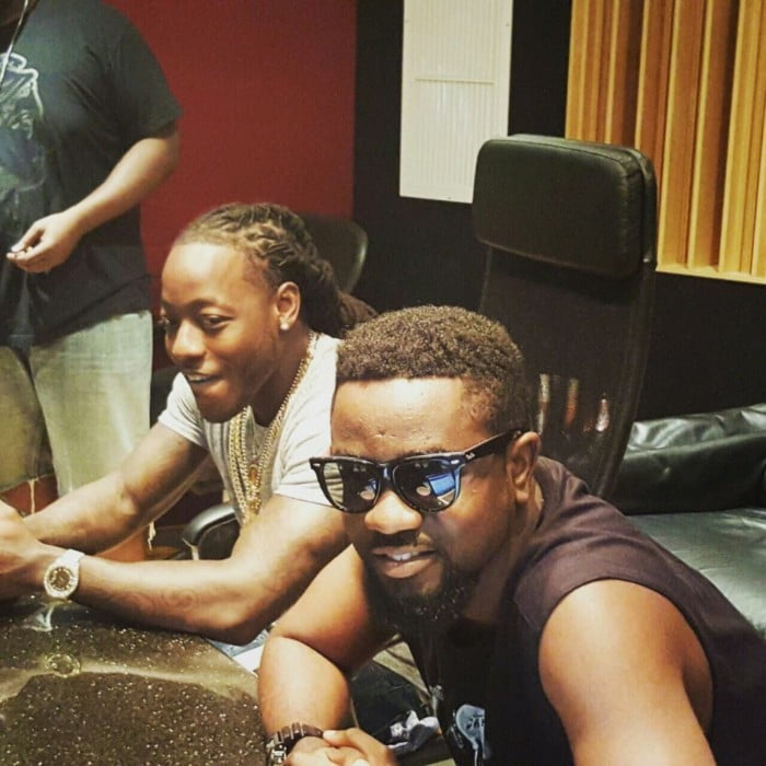 SARKACE2 - Sarkodie records with American Rapper Ace Hood