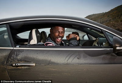 idris - Idris Elba Breaks 88 year old UK Driving record.. In a $270,000 Bentley