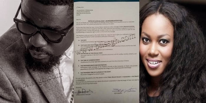 sarknelsonblissgh.com  - Yvonne Nelson, Sarkodie to lead 'Dumsor vigil' on May 16