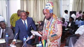 Blakk Rasta Apologies To Parliament