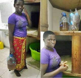 19 year old Kenyan maid uses urine to cook for her boss