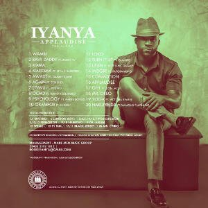 Iyanya Applaudise Album Back Cover - Iyanya - Again ft. Seyi Shay + Psychology & Harrysong
