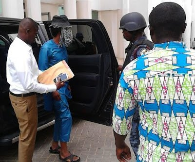 Picture: Anas Wore Sandals Made of Car tyres to Court