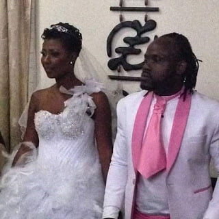 Praye Tiatia (Cartel Big J) ties the knot with Selly