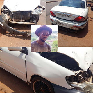 bisakdeiaccident - Bisa Kdei involved in a fatal accident