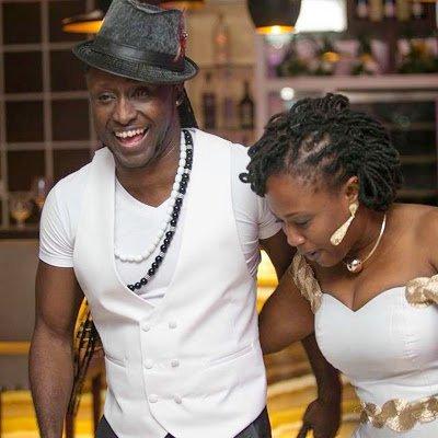 regie n wife - Photos: Reggie Rockstone & Wife: Medicine meets entertainment