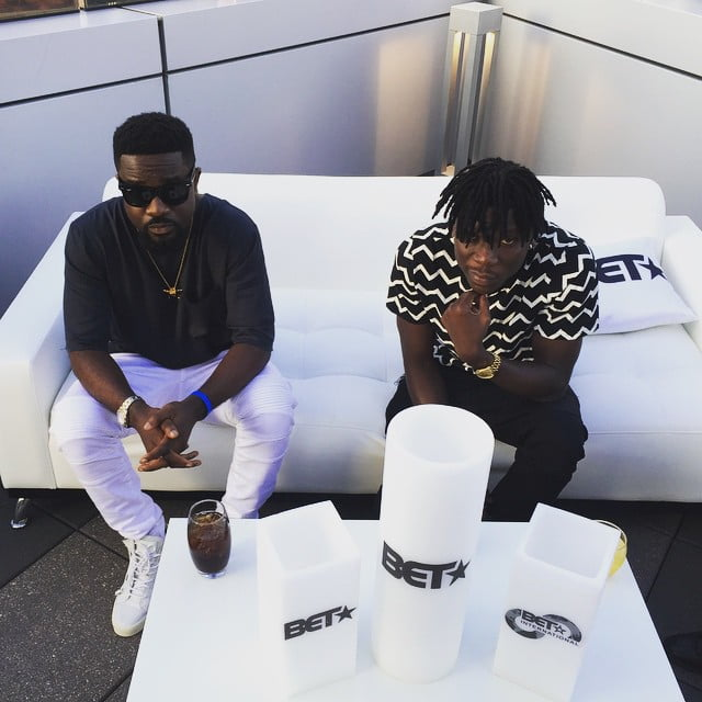 Stonebwoy, Sarkodie to smash up AFRIMA 2015 Stage