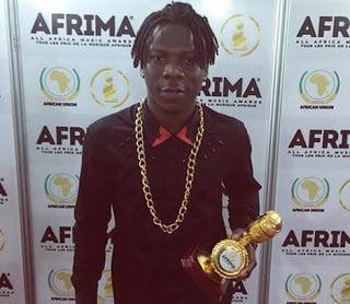 Stonebwoy and Wiyaala  takes home AFRIMA 2015 Award