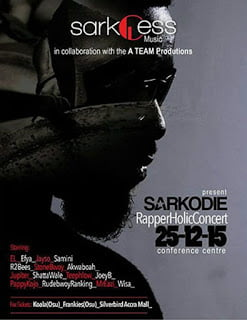 All Stars Set To rock Sarkodie's Rapperholic Concert