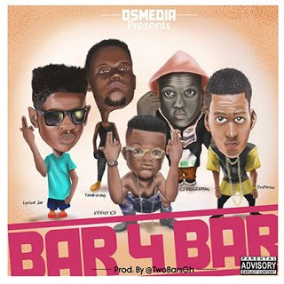 Bar4Bar ft. LyricalJoe x EmPeraw x Tenkorang x CJ Biggerman x Keeny Ice